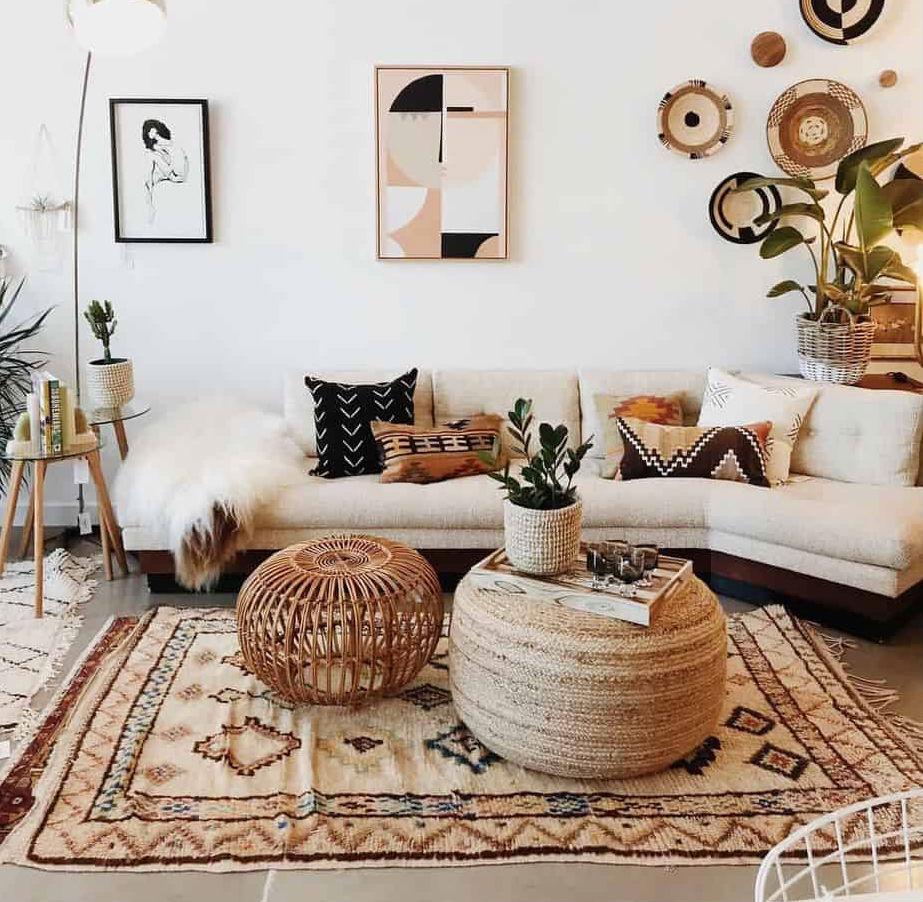 Меха и ковры в интерьере