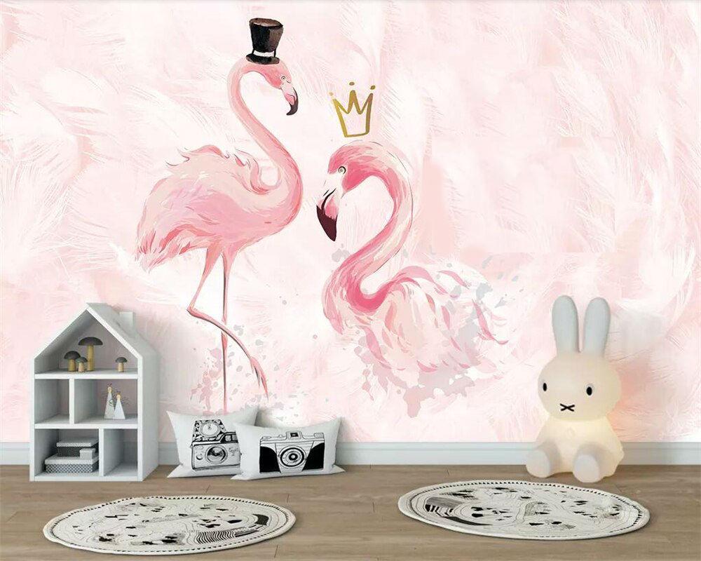фламинго для детской