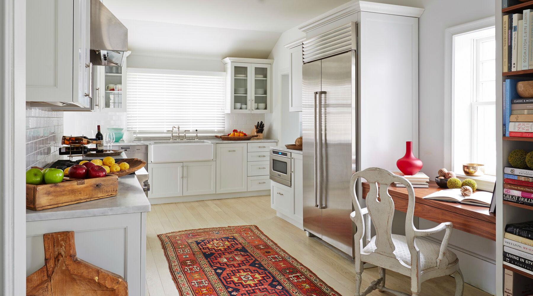 домашний офис на кухне