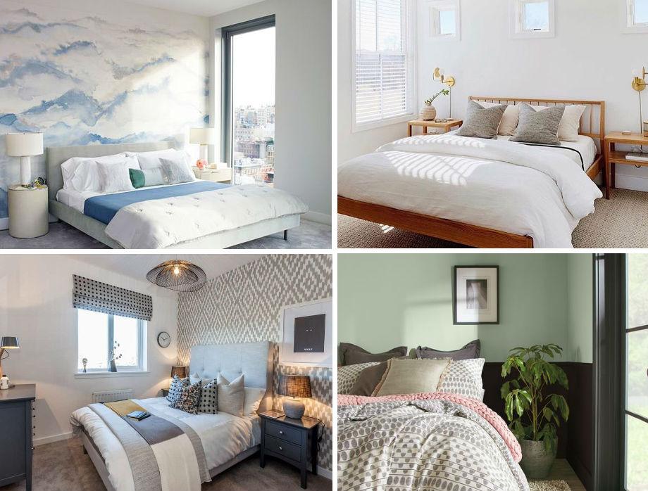 дизайн маленькой спальни 2021