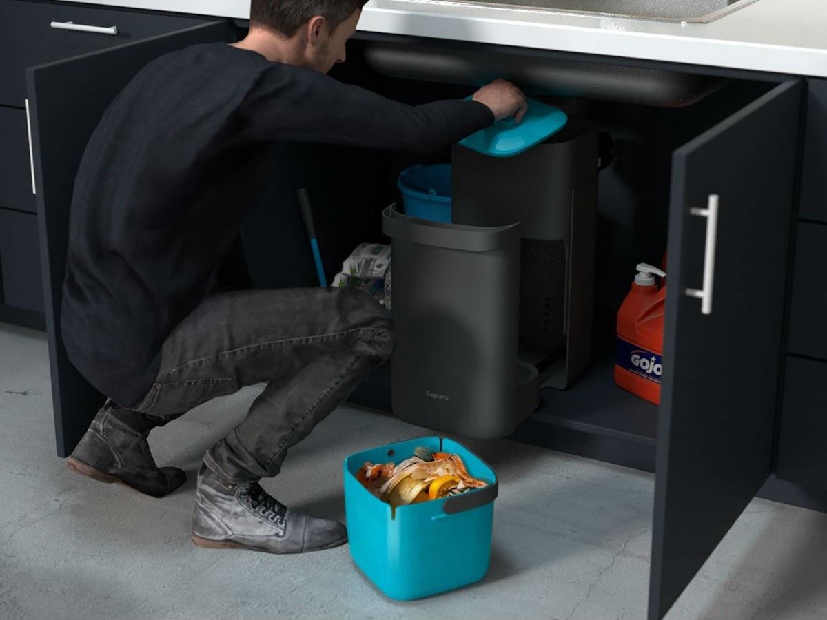 Гаджеты для кухни, умный мусоропровод